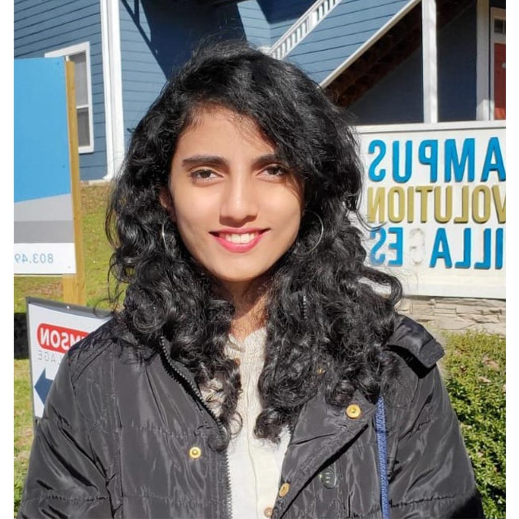 Headshot of Saniya Bipin Vichare